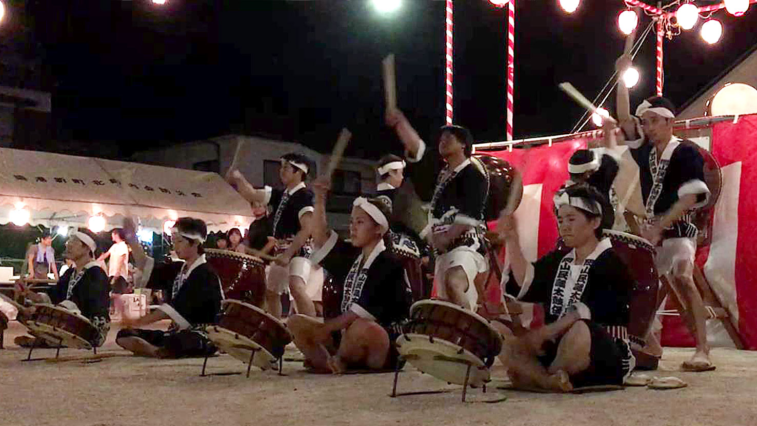 2018年新町北町内会盆踊り
